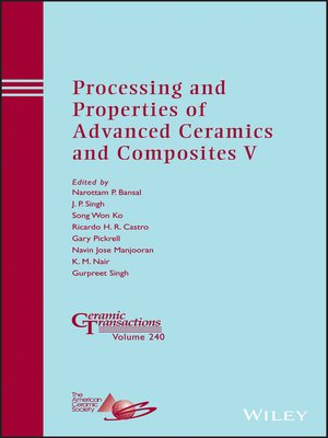 cover image of Processing and Properties of Advanced Ceramics and Composites V